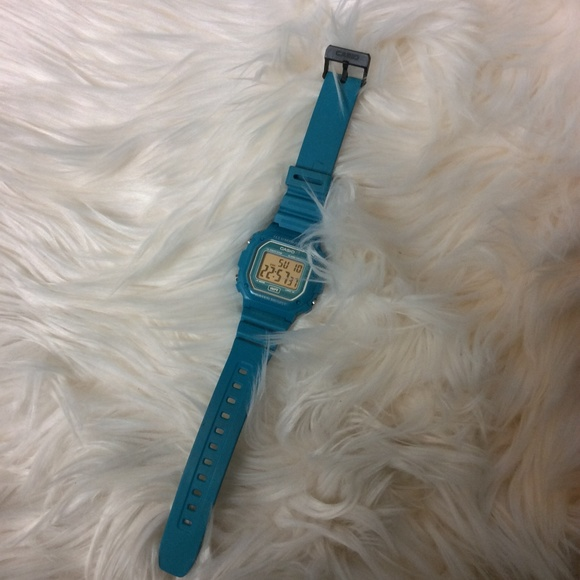 Casio Other - ❌SOLD!❌ Turquoise Green Hipster Casio Watch